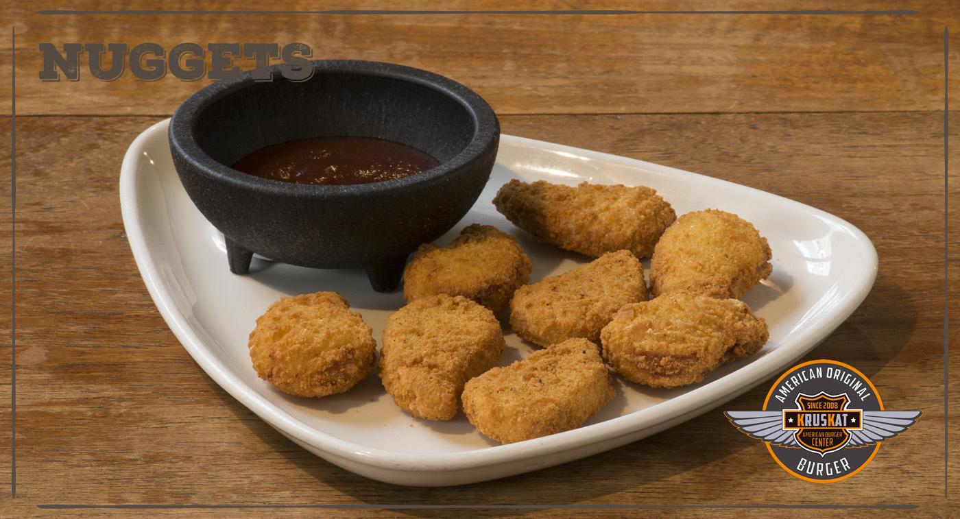 Nuggets de pollo salsa barbacoa